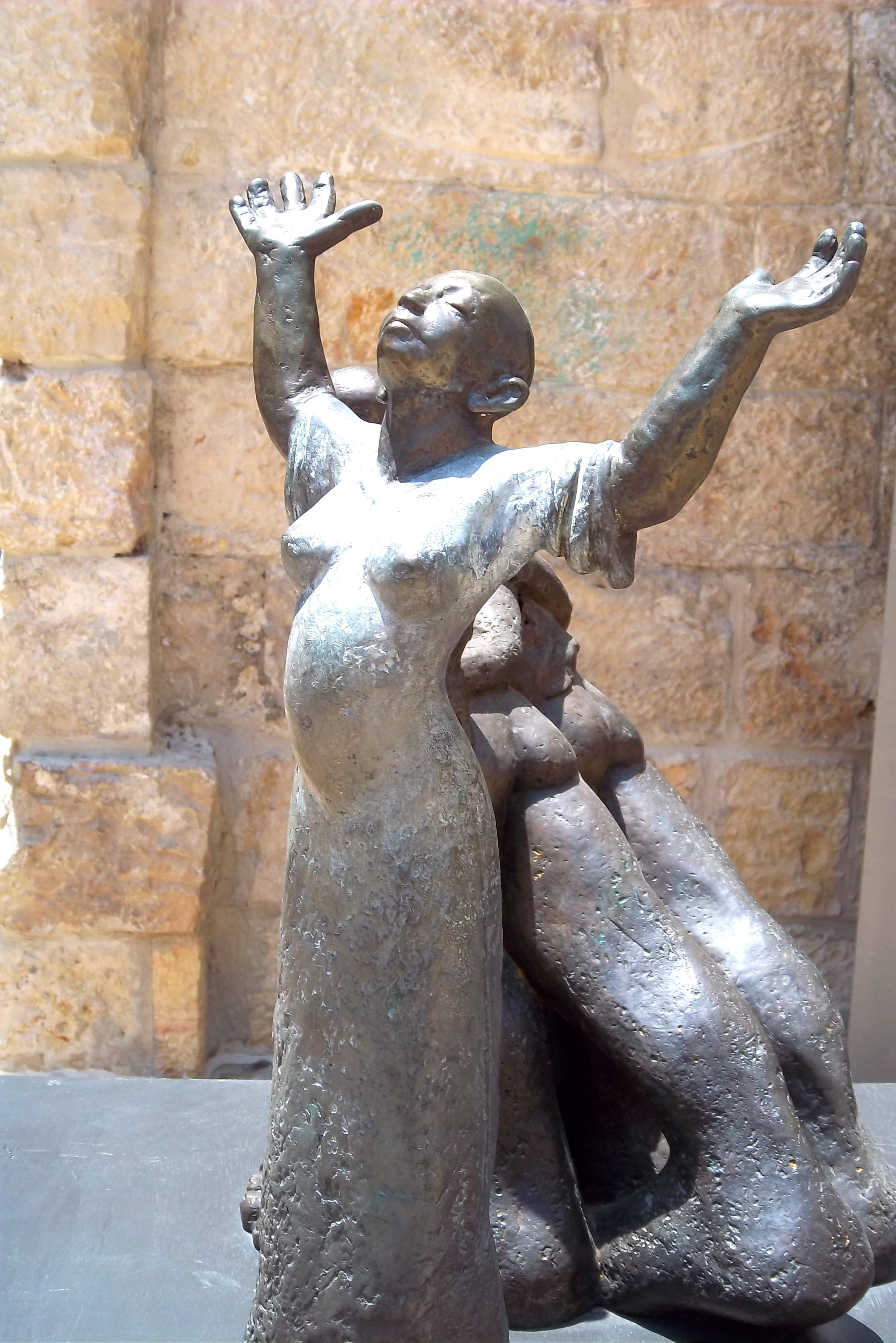 Hannah, a sculpture al Mamilla Mall, Jerusalem