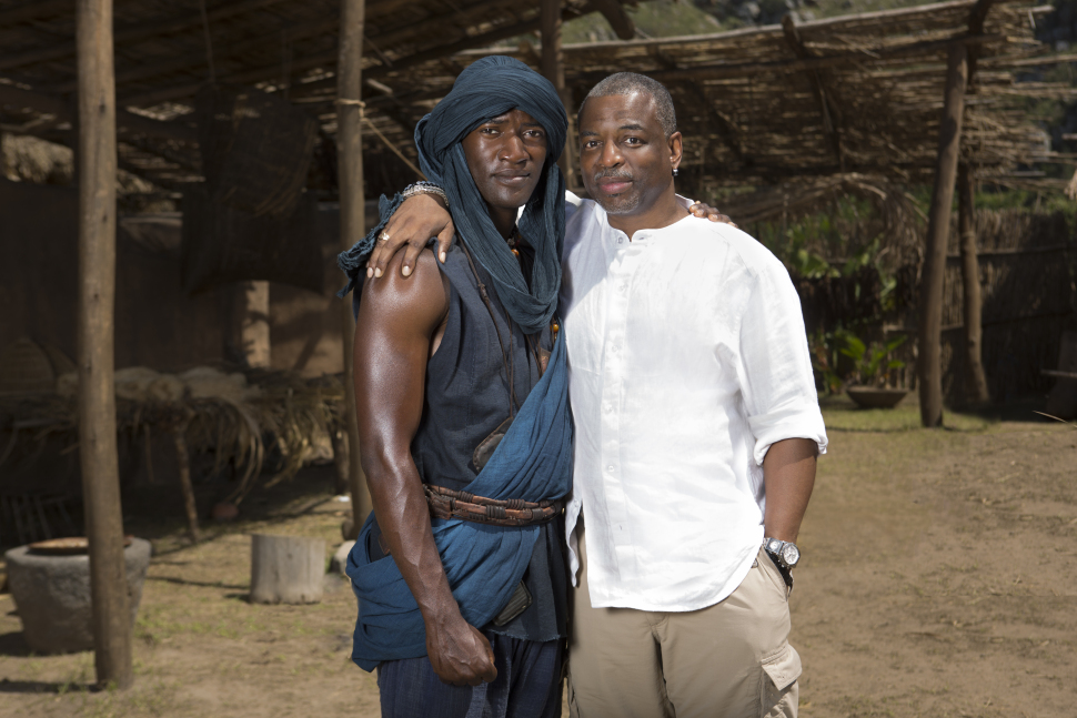 Both actors played Kunta Kinte
