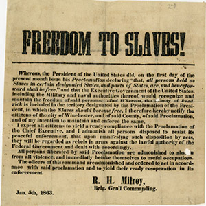 Freedom to Slaves!