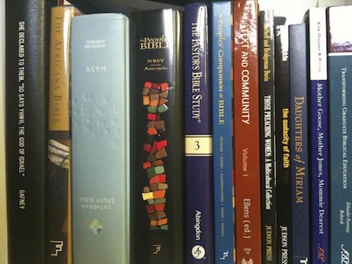 Bookshelf Bibles