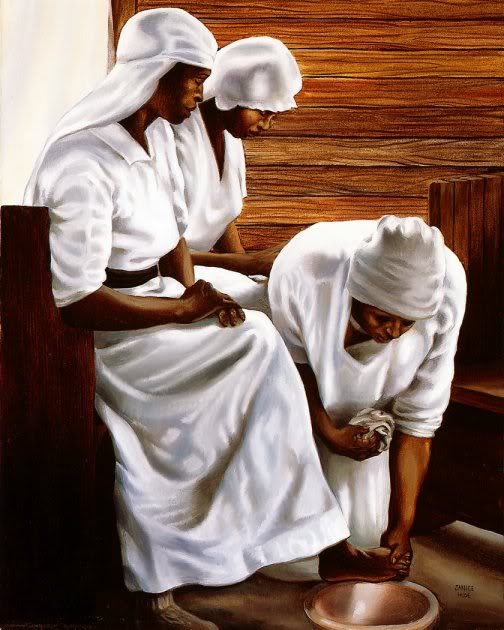 The Foot Washing Service JANICE HUSE