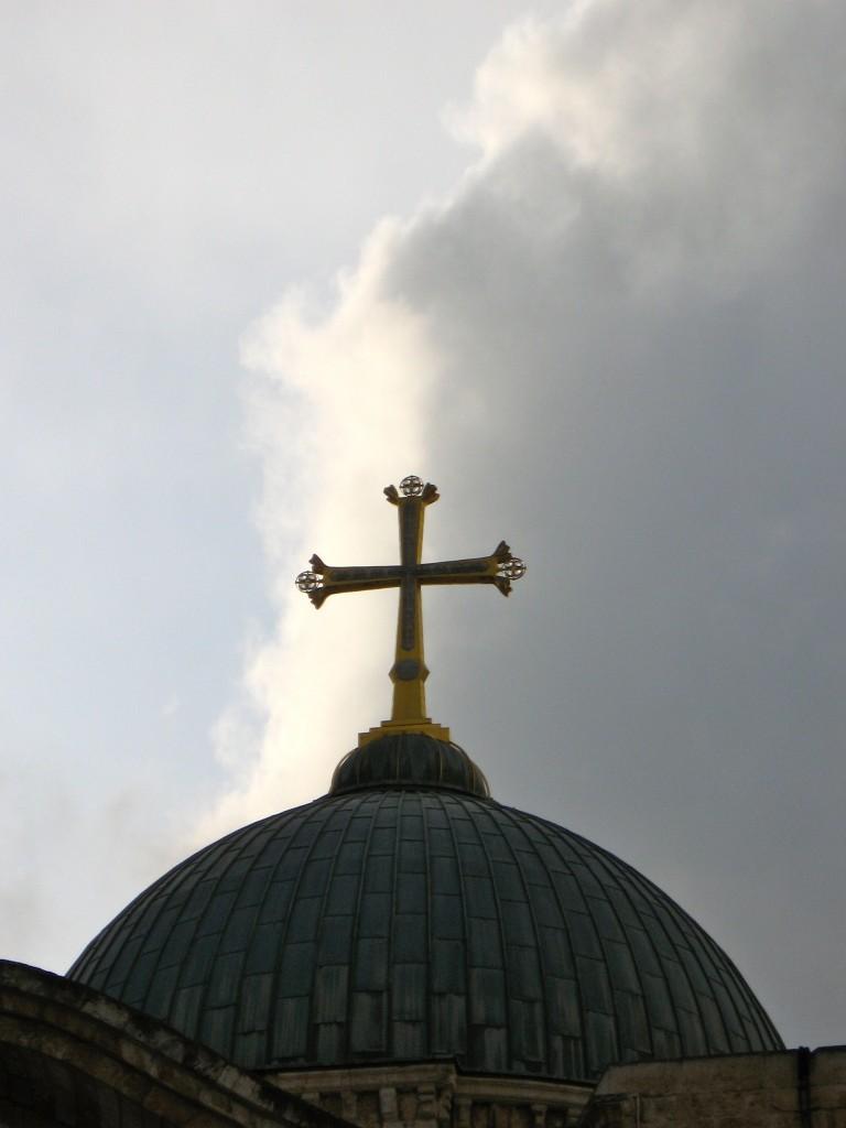 Cross on Calvary, Jerusalem